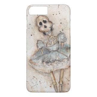 esqueleto de la niña funda iPhone 7 plus