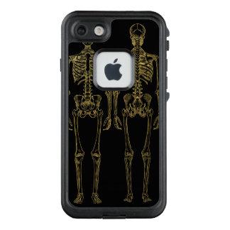 Esqueleto de oro FRĒ® del vintage para el iPhone 7