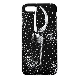 Esqueleto de una ballena funda para iPhone 7