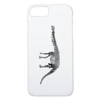 esqueleto del apatosaurus funda iPhone 7