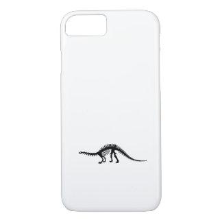 esqueleto del brontosaurus funda iPhone 7