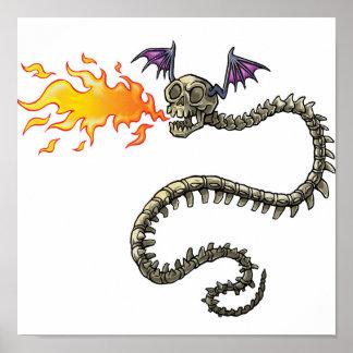 esqueleto del dragón impresiones