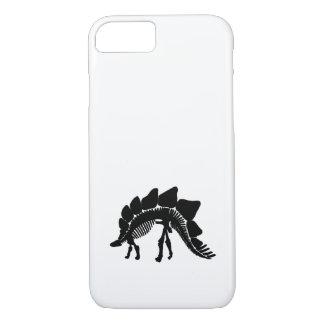 esqueleto del stegosaurus funda iPhone 7
