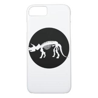 Esqueleto del Triceratops Funda iPhone 7