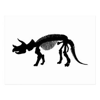 Esqueleto del Triceratops Postal
