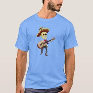 Esqueleto masculino del azúcar del Mariachi Camiseta