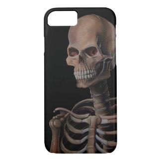 Esqueleto pintado a mano funda iPhone 7