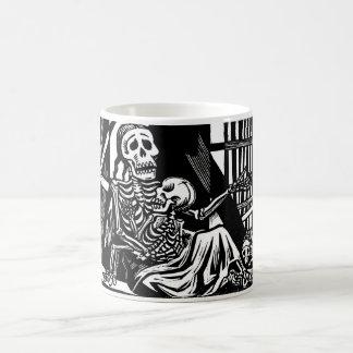 Esqueletos de la madre y del niño por Leopoldo M Tazas