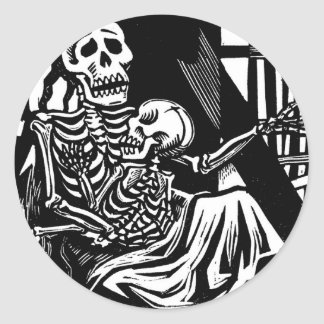 """""""Esqueletos de la madre y del niño"""" por Leopoldo Pegatina Redonda"""