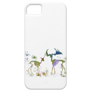 Esqueletos de los ciervos funda para iPhone SE/5/5s