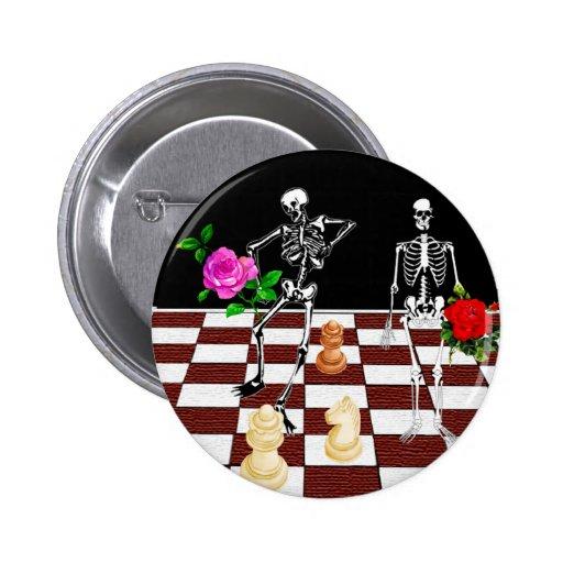 Esqueletos del ajedrez pins