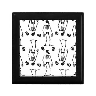 Esqueletos del baile caja de regalo
