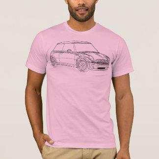 Esquema 2 de Mini Cooper Camiseta