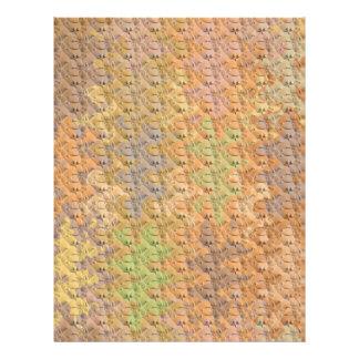 Esquema de color Handcrafted triturador seco del Folleto 21,6 X 28 Cm