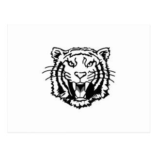 Esquema de los tigres postal