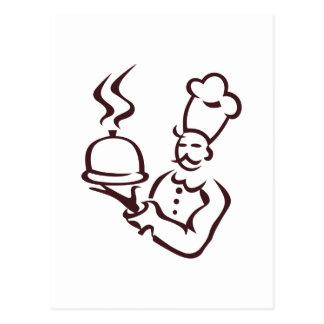 Esquema del cocinero postal