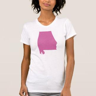 Esquema del estado de Alabama Camisetas