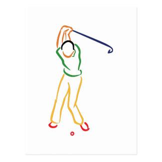 Esquema del golfista postal