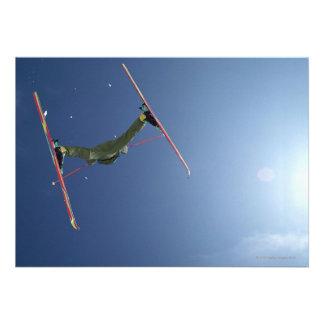 Esquí Invitación Personalizada