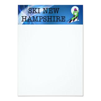 Esquí SUPERIOR New Hampshire Invitación 12,7 X 17,8 Cm