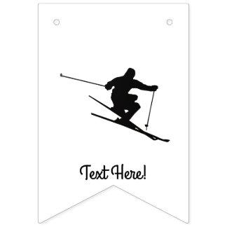 Esquiador Banderines