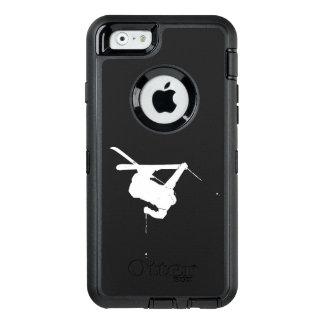 Esquiador negro y blanco funda OtterBox defender para iPhone 6