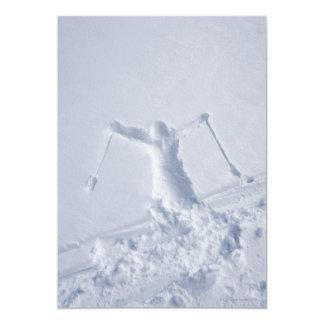 Esquiadores 2 comunicados personalizados