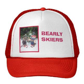 Esquiadores de Bearly Gorro De Camionero