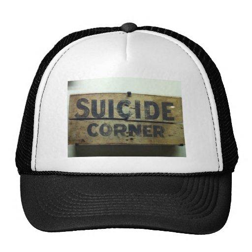 Esquina del suicidio gorro