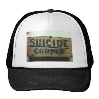 Esquina del suicidio gorros