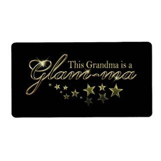 Esta abuela es un Atractivo-mA Etiquetas De Envío