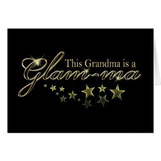 Esta abuela es un Atractivo-mA Tarjeta De Felicitación