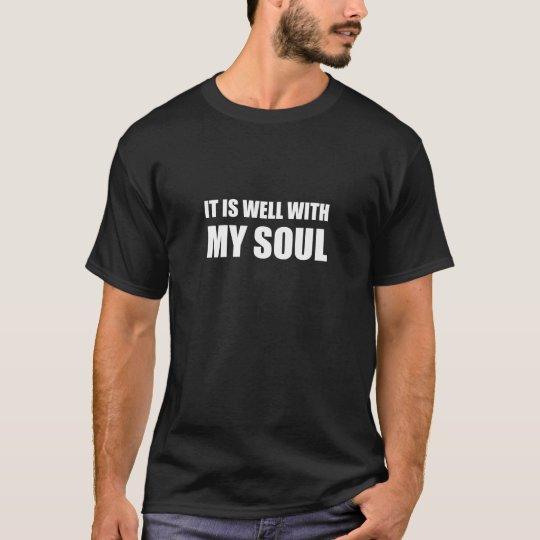 Está bien con mi alma camiseta