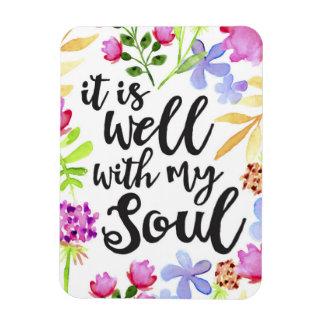 Está bien con mi imán del alma
