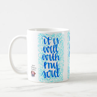 Está bien con mi taza de café del alma