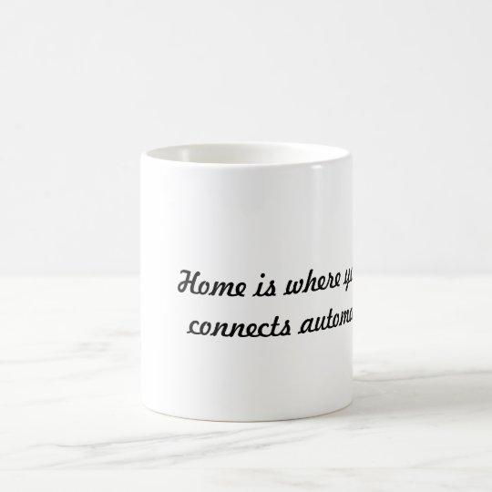 Está donde el hogar… taza de café