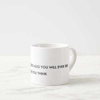 ésta es la taza más fresca que usted verá nunca:
