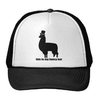 Ésta es mi llama de lujo del gorra