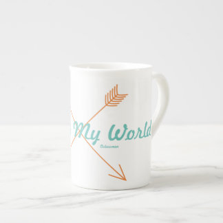 Ésta es mi taza de té de la flecha del mundo