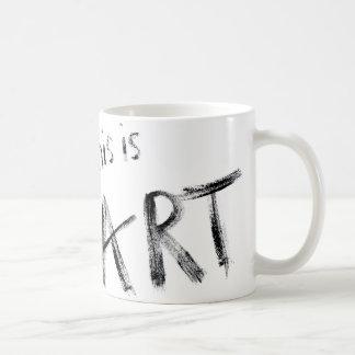 Ésta es taza del arte