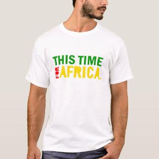 Esta hora para la camisa de África