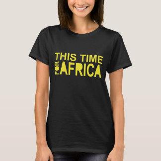 Esta hora para la camiseta de las mujeres de