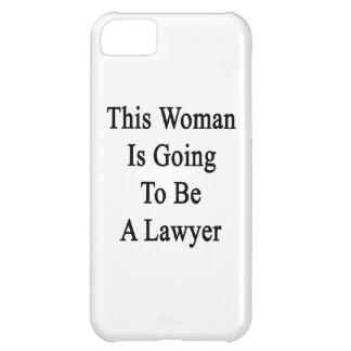 Esta mujer va a ser abogado