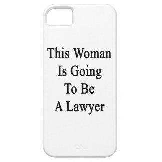 Esta mujer va a ser abogado iPhone 5 funda