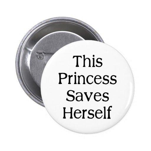 Esta princesa Saves Pins