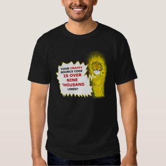 ¡está sobre nueve miles! camiseta