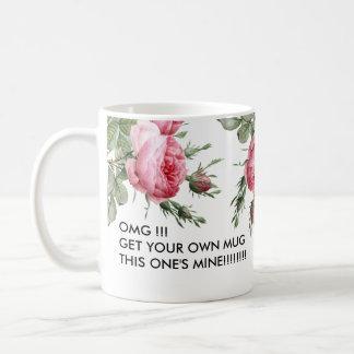 Esta su taza de café divertida de la mina