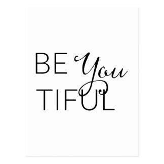 Está usted Tiful - tarjeta inspirada