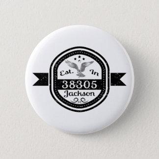 Establecido en 38305 Jackson Chapa Redonda De 5 Cm