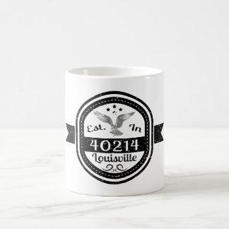 Establecido en 40214 Louisville Taza De Café